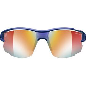 Julbo Aero Zebra Light Fire+ Clear Sunglasses Blue/Red-Multilayer Red